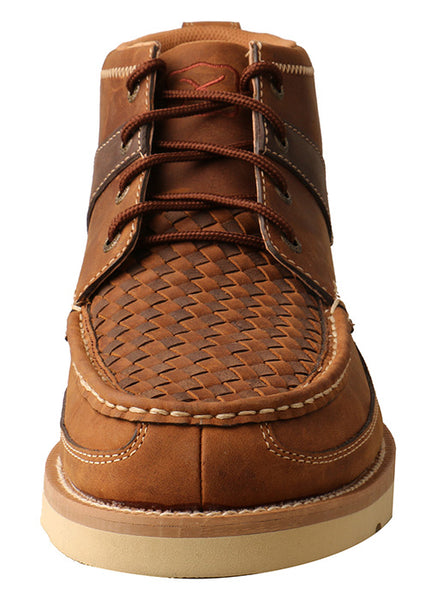 "4"" Wedge Sole Boot Woven"