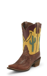 Nocona Phoenix Brown Women's Western Boot