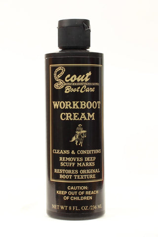 Scout Work Boot Cream