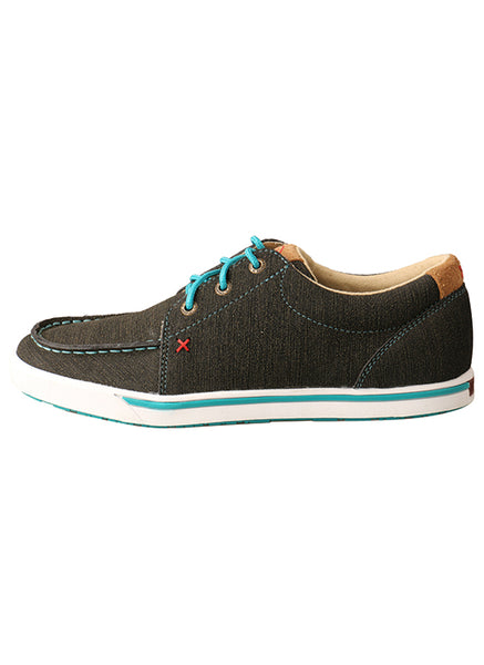 Women's Brown/Turquoise Casual Kicks