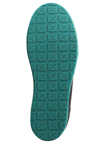 Twisted X Women's Kicks Dark Teal and Teal