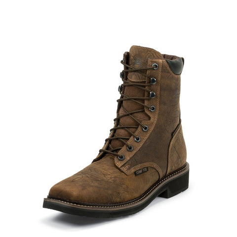 Justin Driller Waterproof Comp Toe Workboot