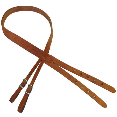 Leather Crupper Strap: Double Attachment