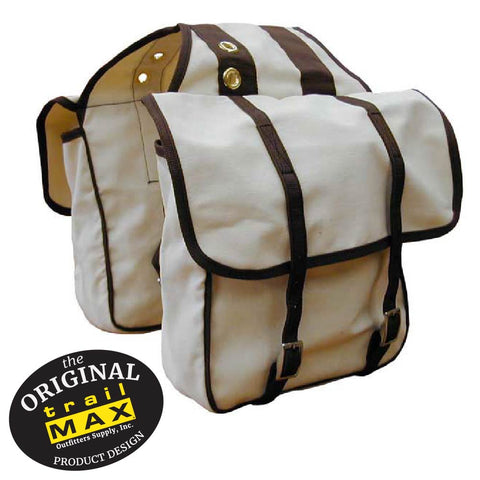 Canvas Saddlebags