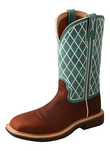 11″ Alloy Toe Western Work Boot with CellStretch®