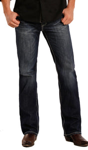Rock and Roll Pistol Regular Fit Straight Leg Jeans