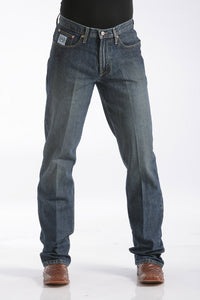 Cinch Men's Relaxed Fit White Label Jeans - Dark Stonewash