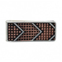 Copper Beaded Arrow Money Clip