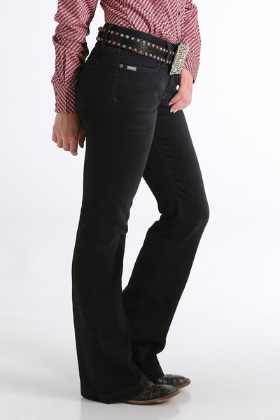 Cinch Women's Slim Trouser Lynden Black
