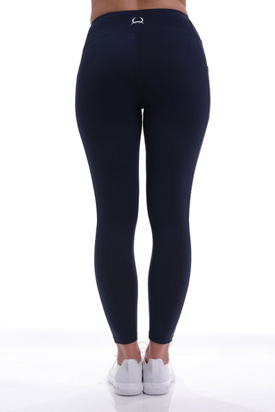 Cinch Women's Navy Legging with Side Pockets