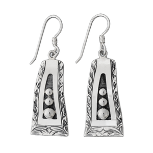 Retro Sterling Earring