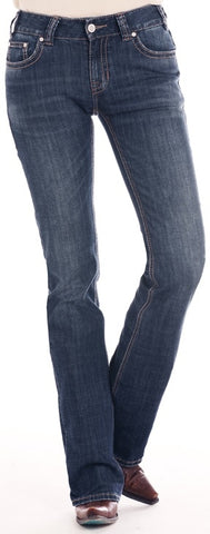 Rock and Roll Cowgirl Mid Rise Bootcut Jeans