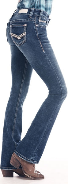 Rock and Roll Cowgirl Rival Bootcut Extra Stretch Jean
