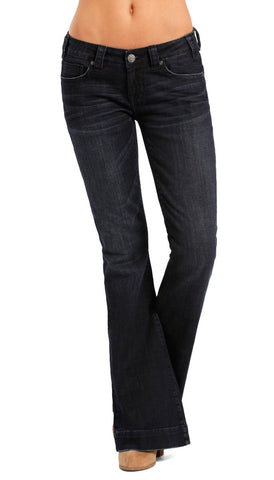 Rock and Roll Cowgirl Trouser Low Rise Jean