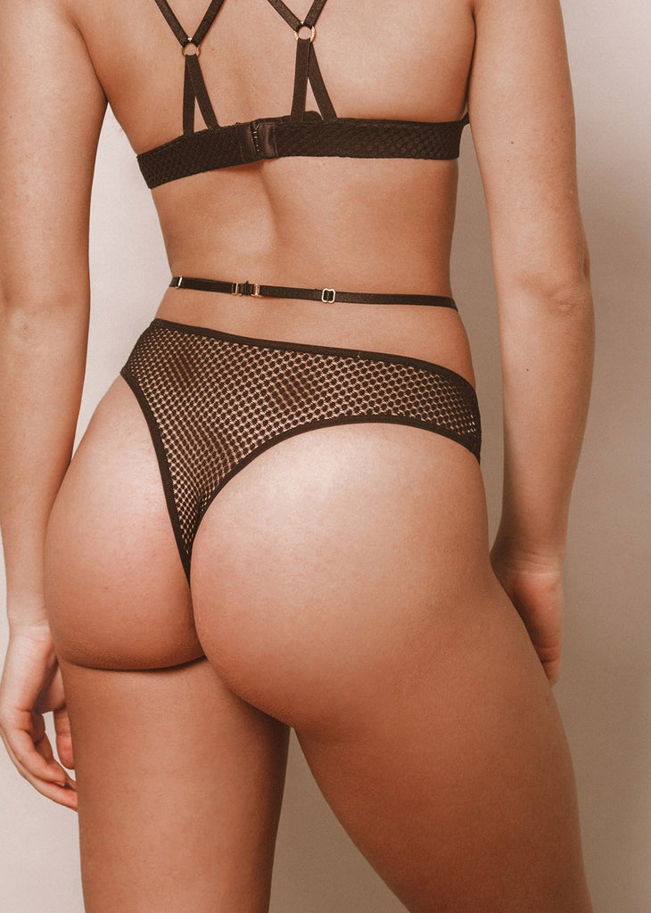 Double The Trouble Thong - LEONESSA Lingerie