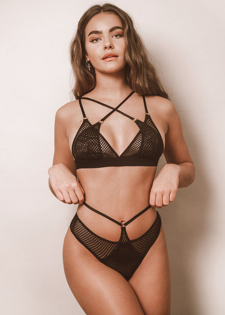 Double The Trouble Bra - LEONESSA Lingerie