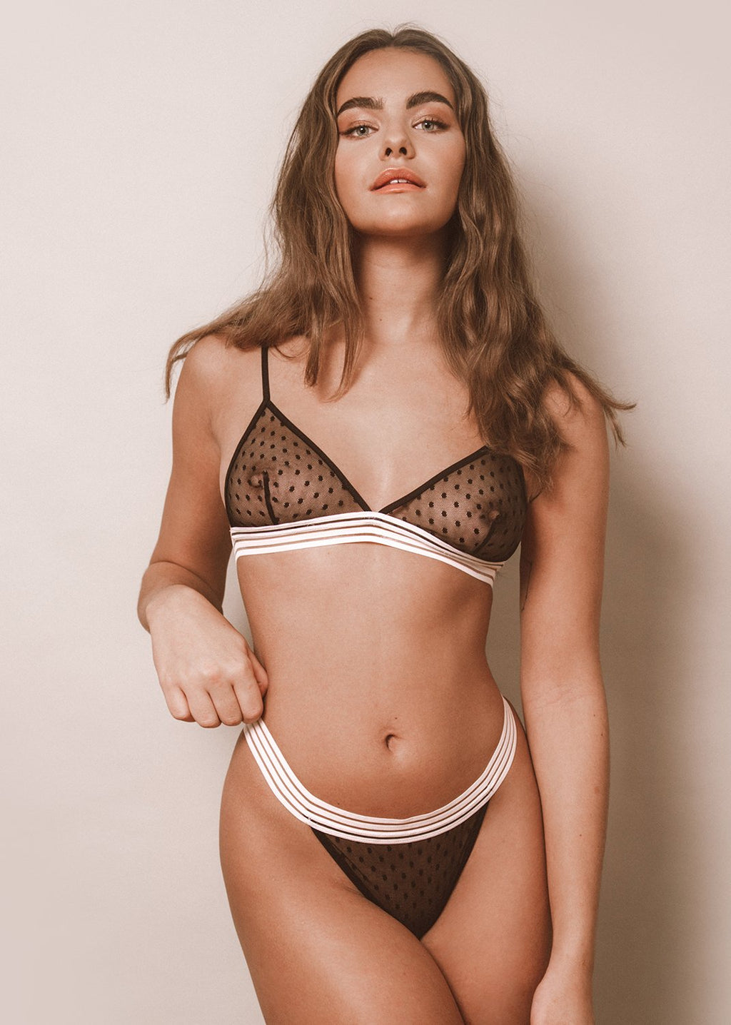 Everything Starts From A Dot Bra - LEONESSA Lingerie