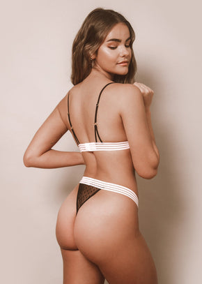 Everything Starts From A Dot Thong - LEONESSA Lingerie
