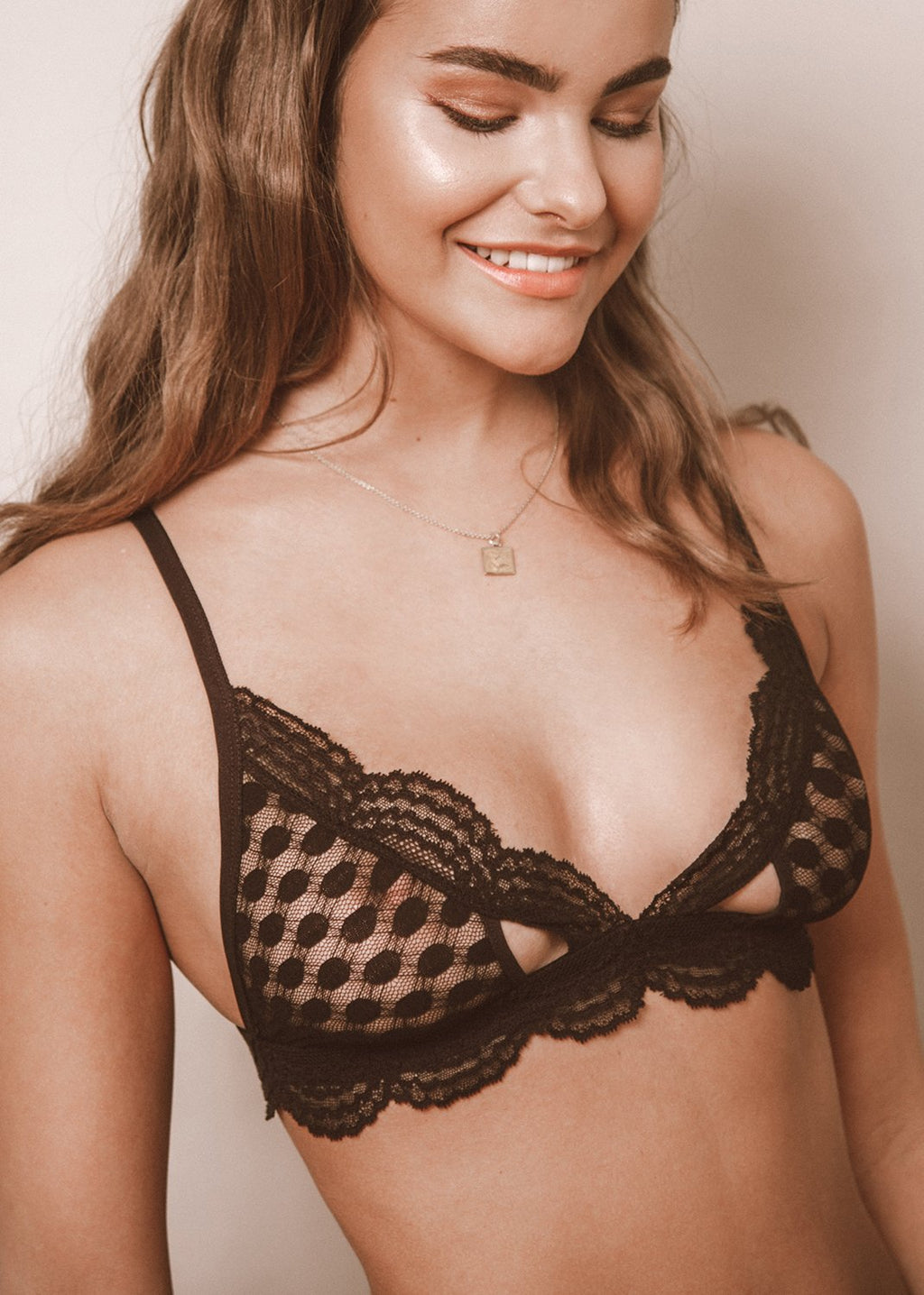 Happiness Comes In Waves Bra - LEONESSA Lingerie