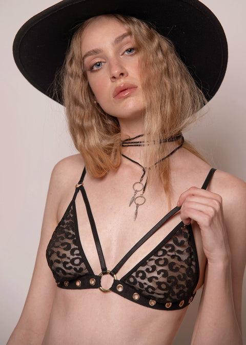 Rock N'Doll Strappy Bra