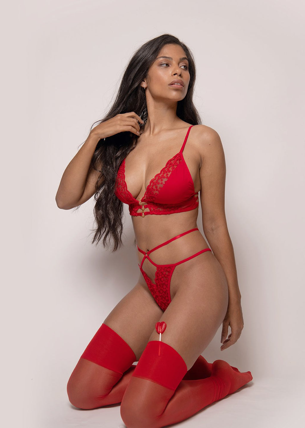Vive L'Amour Bra – Red