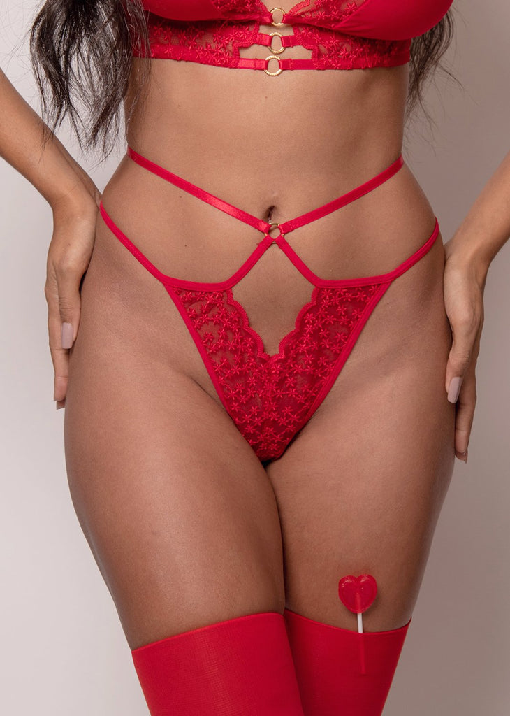 Vive L'Amour Thong – Red