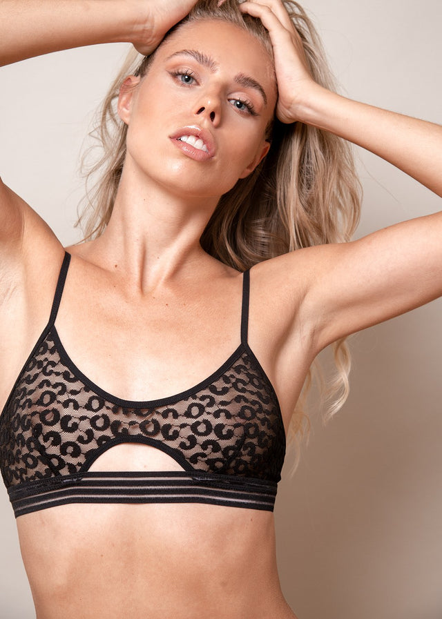 Wild Heart Cut Out Bra