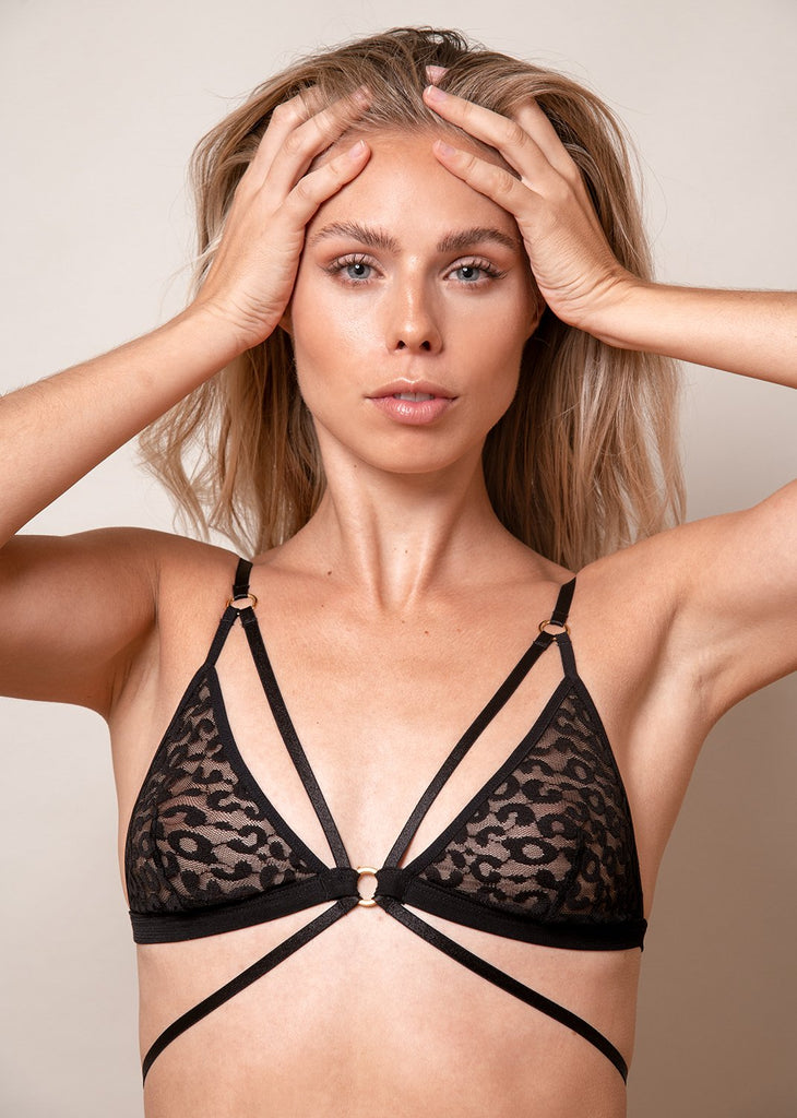 Wild Heart Strappy Bra