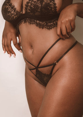 Not Your Baby Thong - LEONESSA Lingerie