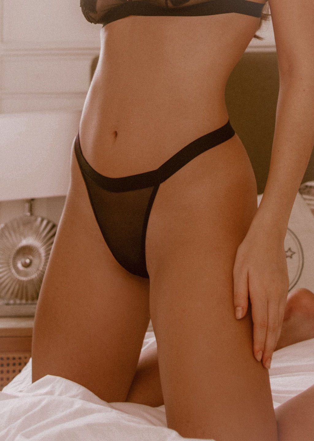 Nothing To See Thong - LEONESSA Lingerie