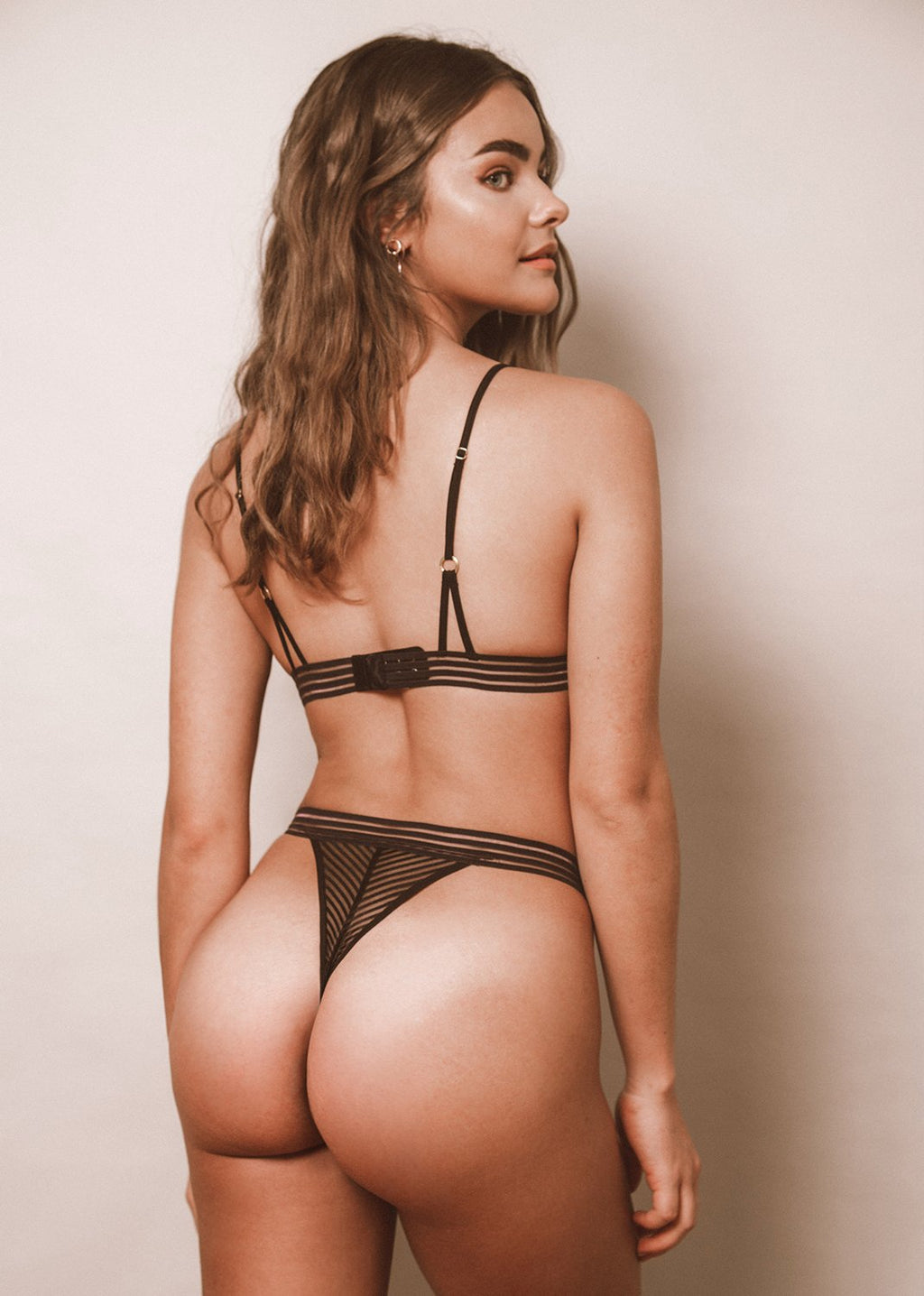 Strip(e) That Down Thong - LEONESSA Lingerie