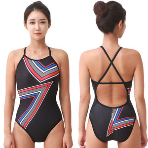 Corner Crossback Swimsuit