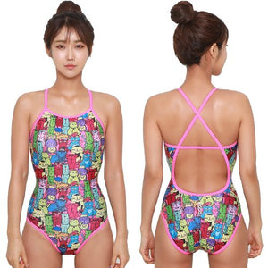 Cat Crossback Swimsuit