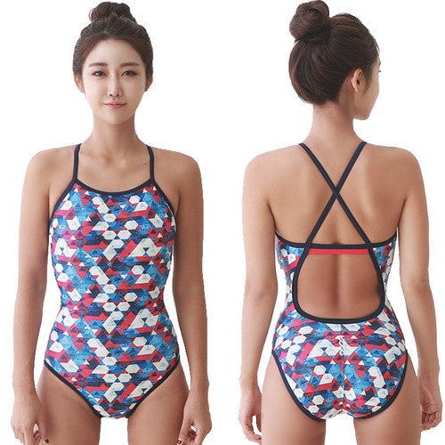 Crystal Crossback Swimsuit