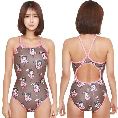Flamingo Vback Swimsuit