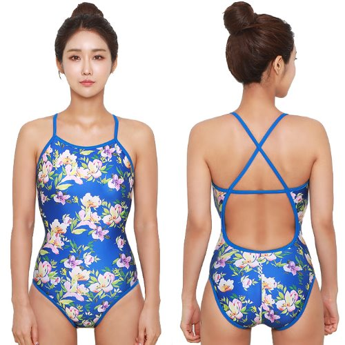 Flower Crossback Swimsuit