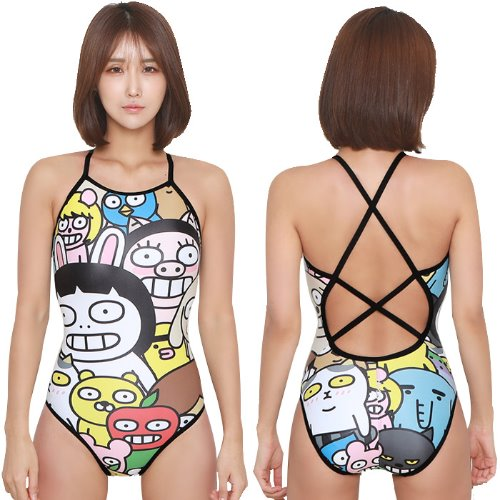Friends Double Xback Swimsuit