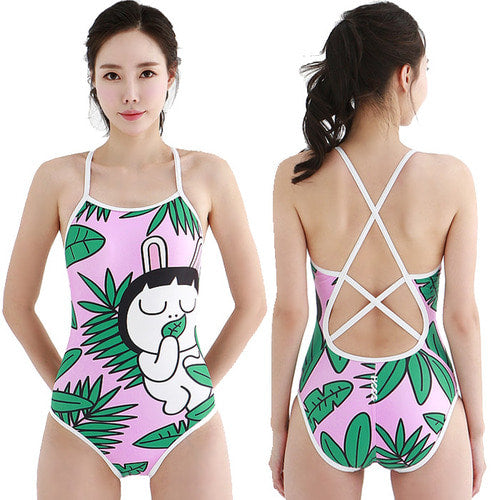 Nature Double Xback Swimsuit