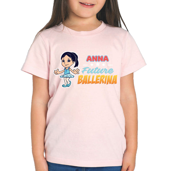 Personalised Kids Tops - Future Ballerina