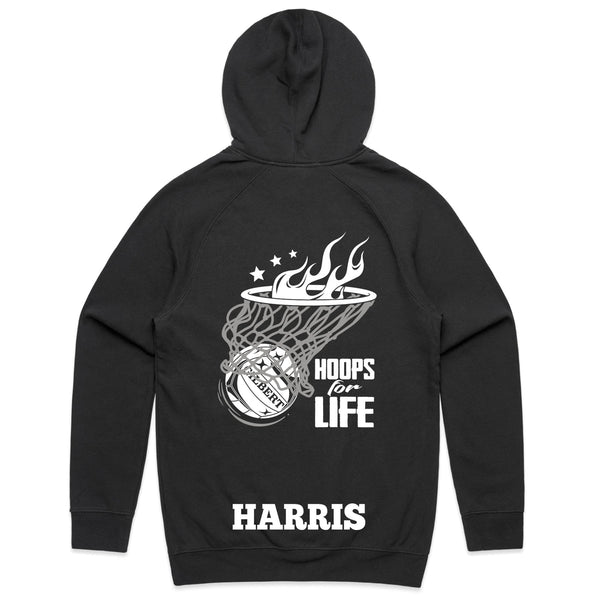 Personalised Netball Hoodie - Hoops for Life