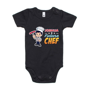 Personalised Baby Onesies - Future Chef