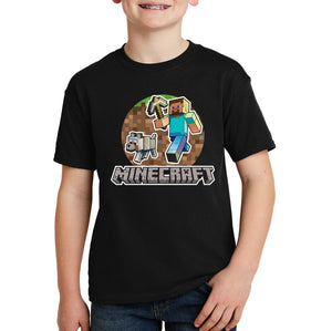 Minecraft Adventure Kids T-shirt