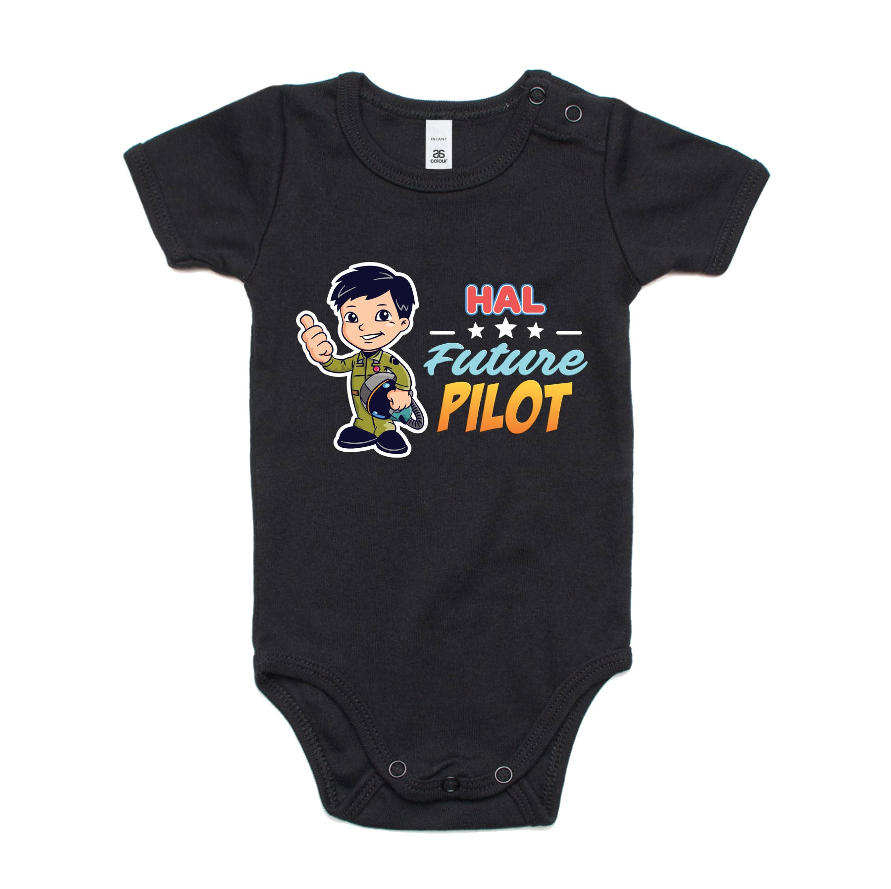 Personalised Baby Onesies - Future Pilot