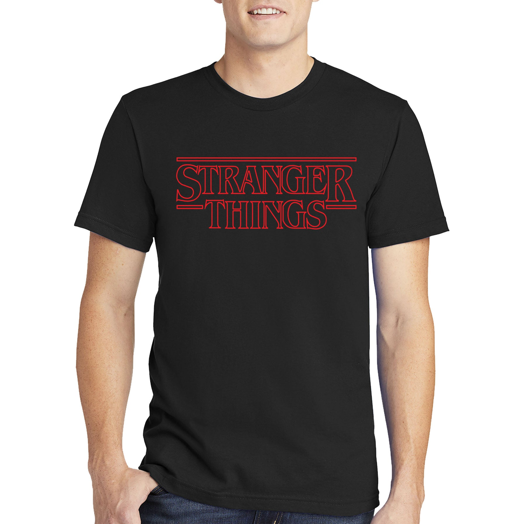 Stranger Things T-shirt Logo