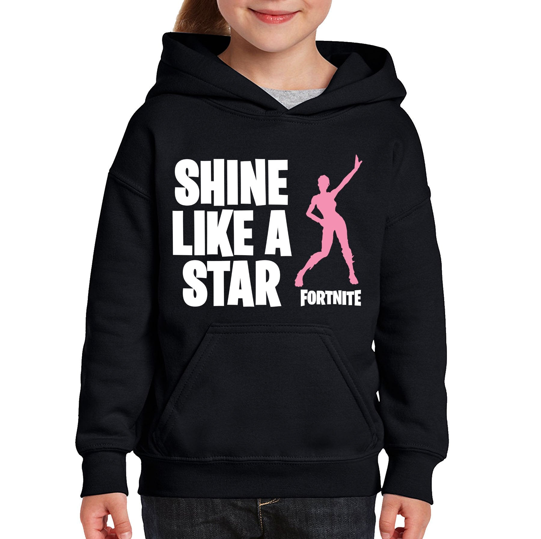 Fortnite Kids Hoodie - Shine Like a Star