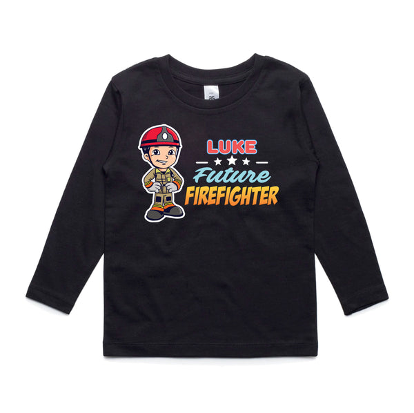 Personalised Kids Tops - Future Firefighter