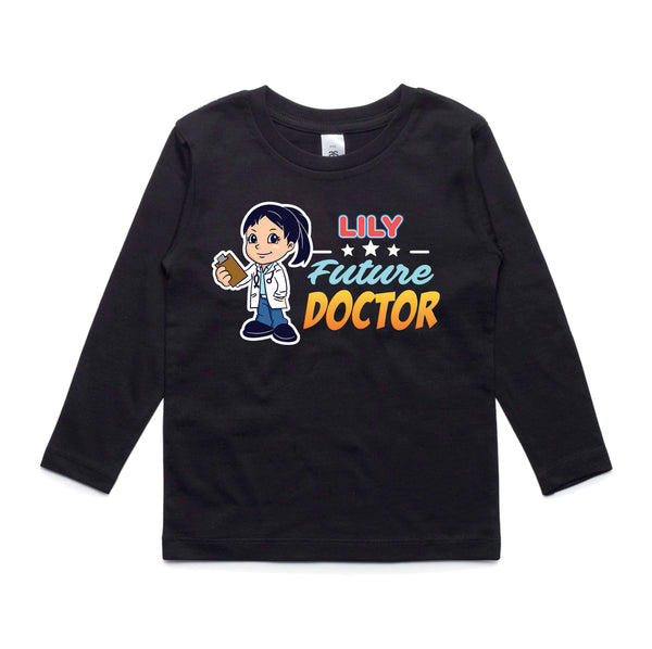 Personalised Kids Tops - Future Doctor