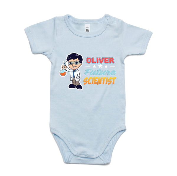 Personalised Baby Onesies - Future Scientist
