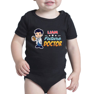 Personalised Baby Onesies - Future Doctor