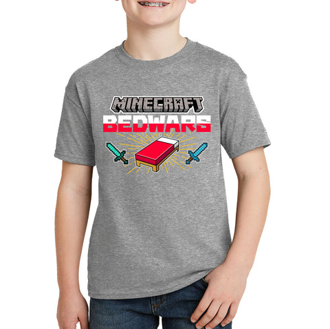 Minecraft Bedwars Kids T-shirt